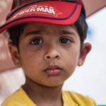 Paris Dada: Kathmandu: 13MAY2015  A tired three year old Madhav Prasad Shakal is held in his mothers arms. He is covered in mosquito bites from sleeping in tents outside and was woken at 3am by an aftershock that shook the valley.